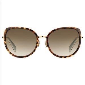BNIC Kate Spade Jensen 57mm gradient sunglasses